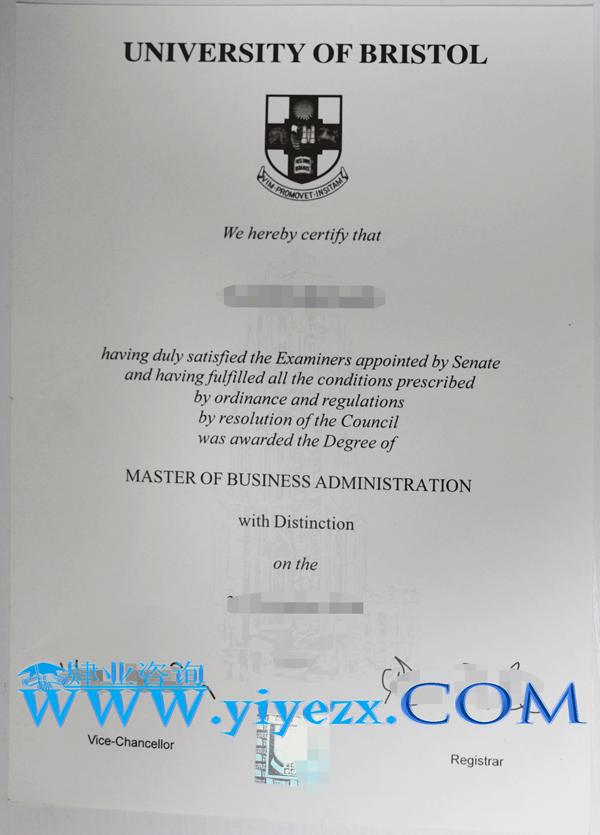 Bristol毕业证办理,布大文凭购买