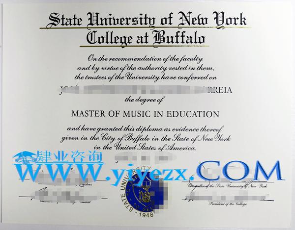 购买SUNY Buffalo State毕业证