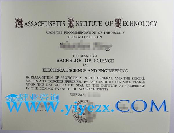 MIT文凭购买,办理MIT毕业证