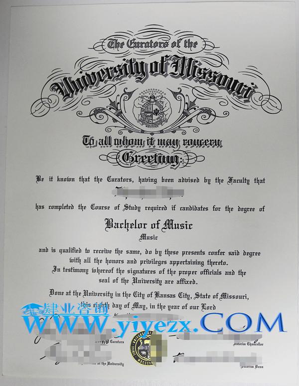 购买Mizzou毕业证,Mizzou学历购买