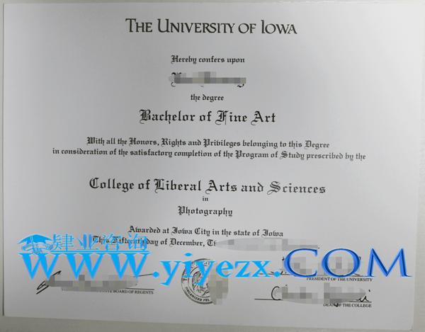 购买UI文凭,办理Iowa毕业证