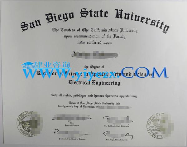 购买SDSU全套文凭