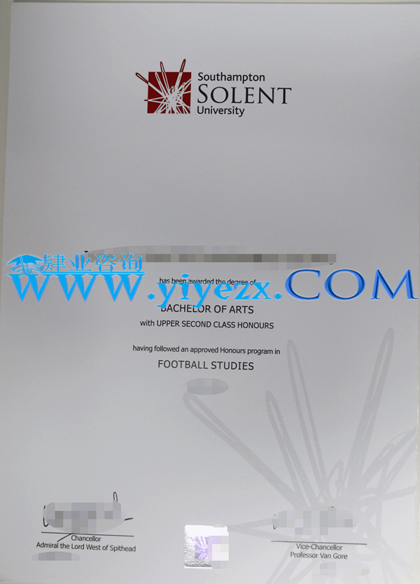 买Solent毕业证