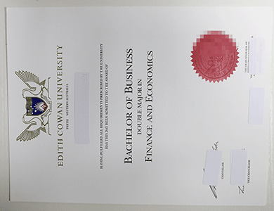办理澳洲埃迪斯科文大学ECU毕业证,购买ECU文凭学位证,真实学籍学历办理可出教育部认证