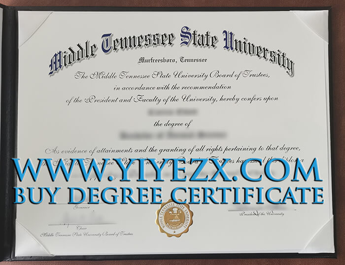 Fake MTSU degree maker, 出售美国田纳西州立大学文凭-文凭工厂