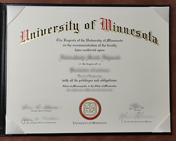 University of Minnesota diploma maker, 明尼苏达大学学位证书出售