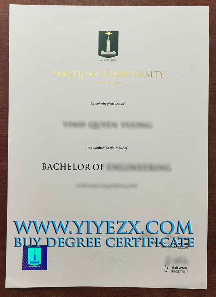 Macquarie University degree