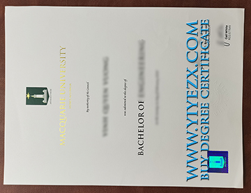 Macquarie University fake degree sample, 在澳大利亚如何购买麦考瑞大学学位?