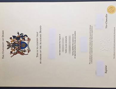 How to buy University of Derby degree in UK? 怎样快速获得德比大学学位证书?