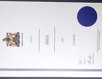 How can I get a fake Kingston University certificate in UK? 如何获得金斯顿大学KUL证书?