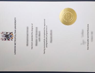 Buy London Metropolitan University degree in UK. 快速获得伦敦城市大学学位。