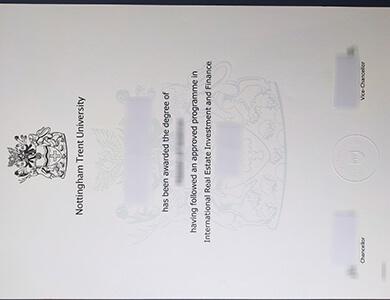 Can I buy Nottingham Trent University degree in UK? 如何在英国获得诺丁汉特伦特大学NTU学位?