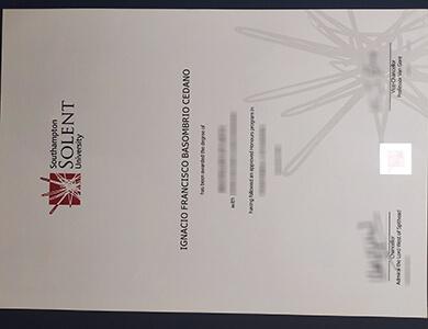Where to buy Solent University degree online? 哪里能在线购买索伦特大学学位?