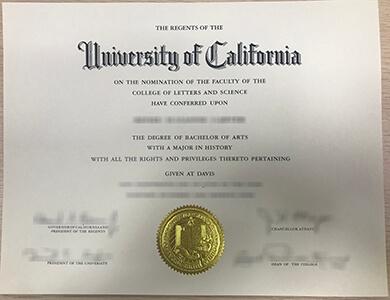How to buy University of California, Davis degree? 怎样快速获得加州大学戴维斯分校UCD学位?