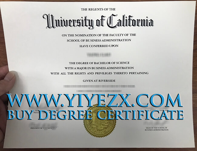 UCR, University of California, Riverside