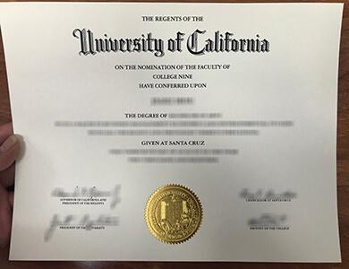 How to buy University of California, Santa Cruz degree? 如何获得加州大学圣克鲁斯分校UCSC学位?