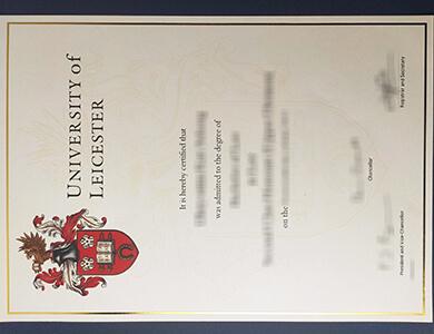 Where to buy University of Leicester certificate in UK? 办理莱斯特大学证书