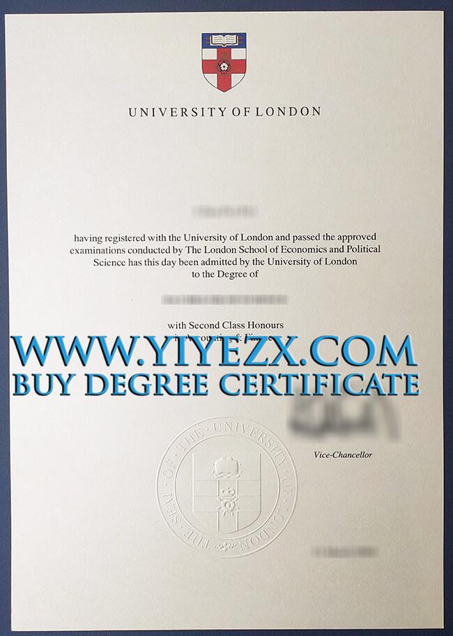 University of London degree