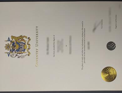 Purchase a fake Coventry University degree in UK. 考文垂大学学位证书订制