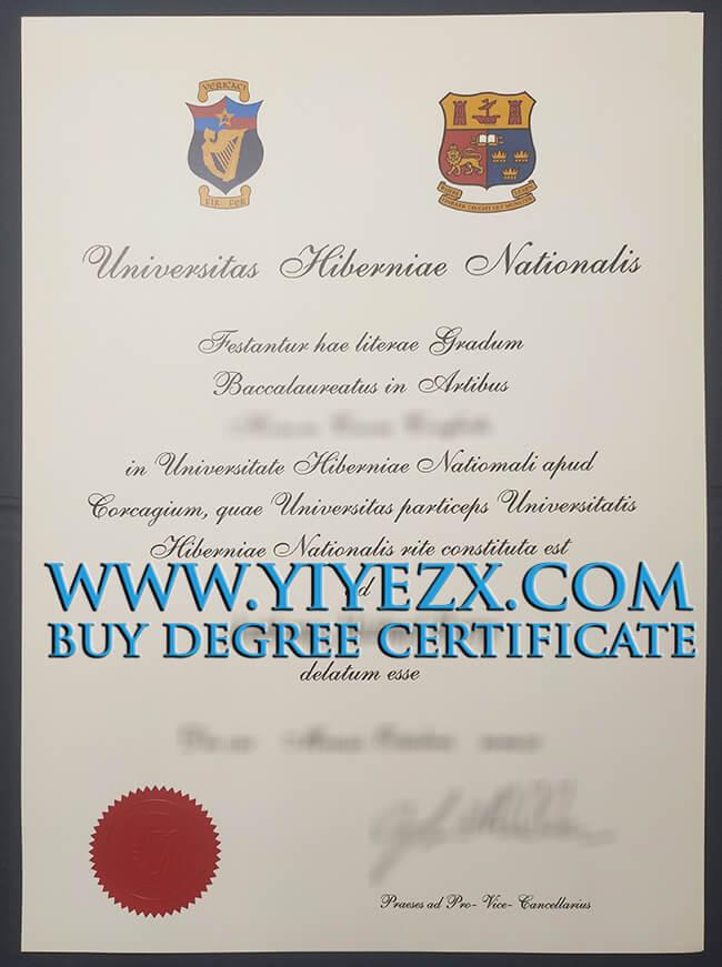 National University of Ireland Galway diploma 爱尔兰国立高威大学NUI Galway文凭证书