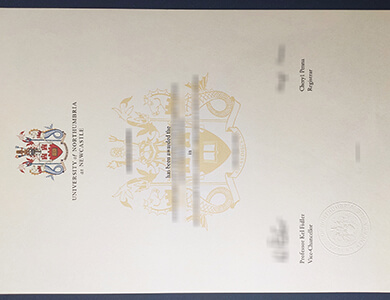 Where to buy a fake Northumbria University certificate in UK? 诺桑比亚大学证书办理
