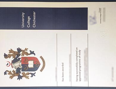 Buy fake University of Chichester degree 奇切斯特大学学士学位证书办理