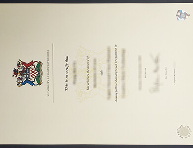 How to buy a fake University of Gloucestershire certificate in UK? 格洛斯特郡大学证书办理