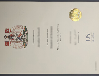 Get a fake University of Sussex certificate 如何快速获得萨塞克斯大学证书?