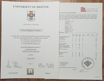 How long to get a fake University of Bristol degree and transcript, 复制布里斯托大学学位成绩单