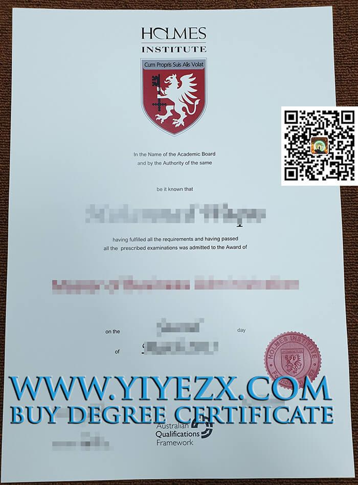 Holmes Institute degree