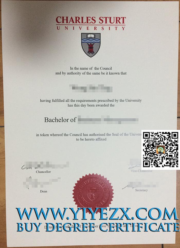 Charles Sturt University degree