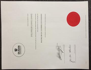 Deakin University Fake Diploma Selling Online, 复制迪肯大学证书