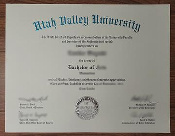Order a fake Utah Valley University diploma,  快速办理犹他谷大学文凭