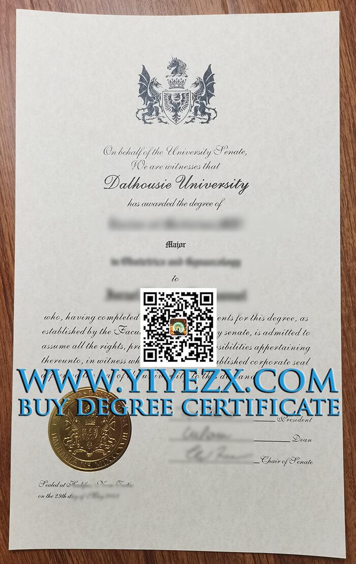 Dalhousie University degree