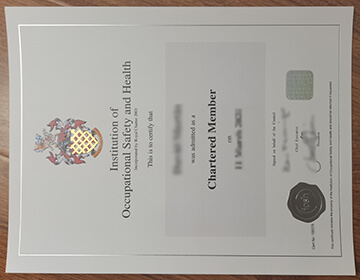 How to get a fake IOSH certificate?