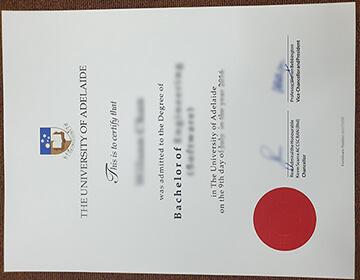 How long to get a fake University of Adelaide degree online? 阿德莱德大学学位证书订购