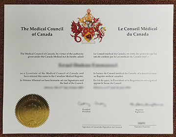 How to buy LMCC fake certificate? Licentiate of the Medical Council of Canada order