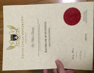 Order a fake Edith Cowan University (ECU) degree, 购买澳洲伊迪丝·考恩大学学位证书