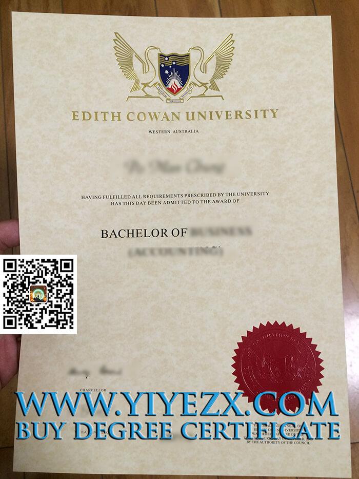 Edith Cowan University degree
