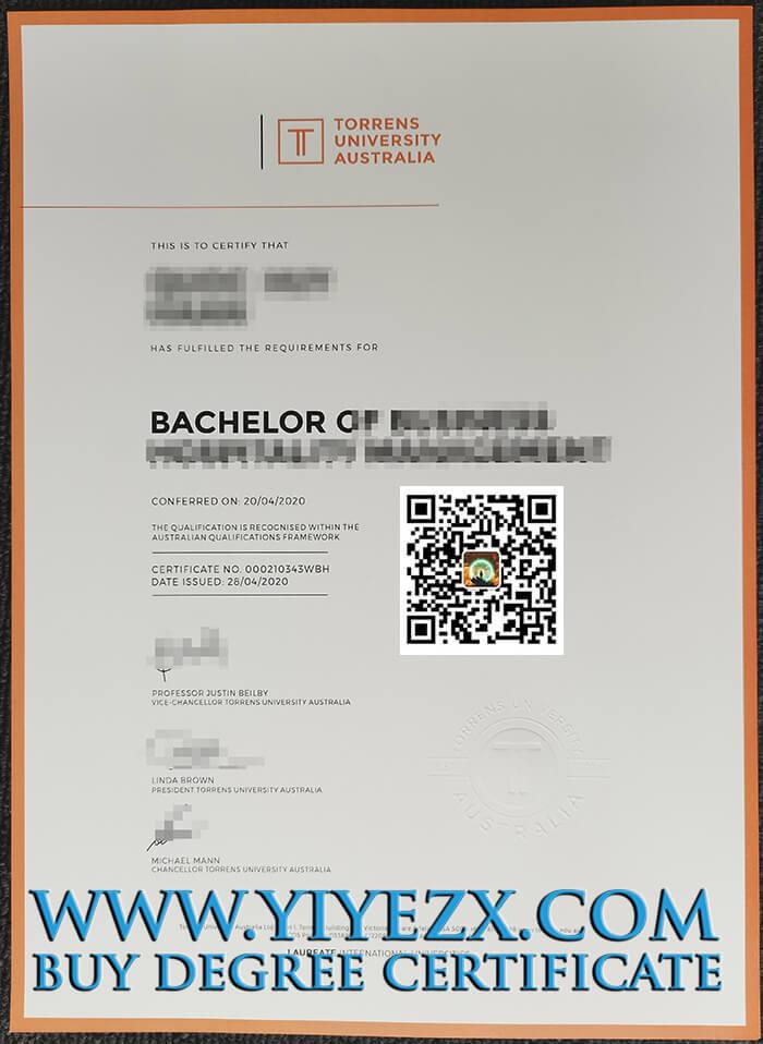 Torrens University Australia degree