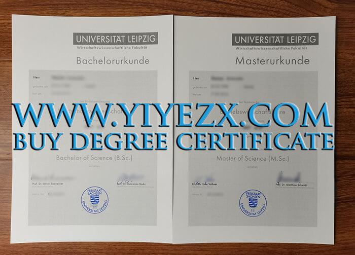 Universität Leipzig bachelor diploma