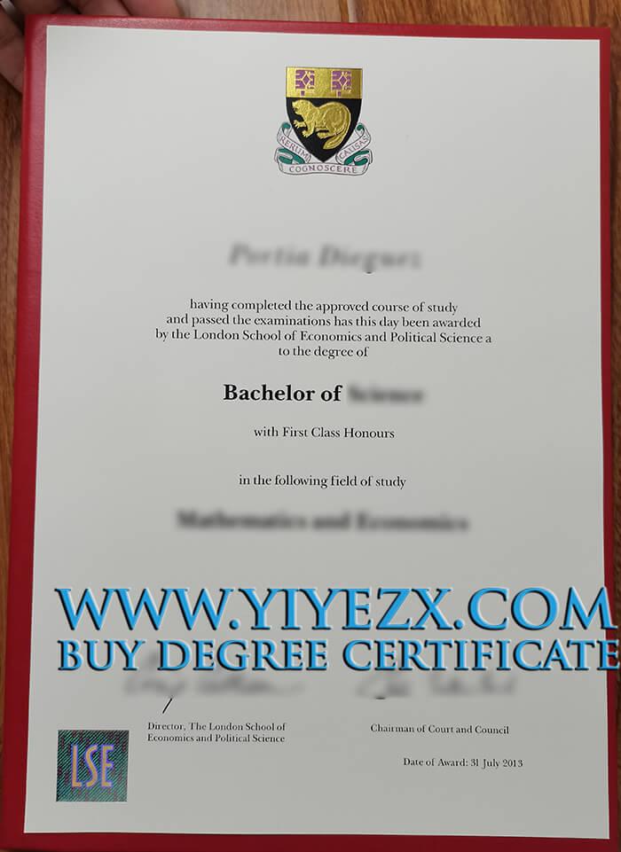 LSE degree
