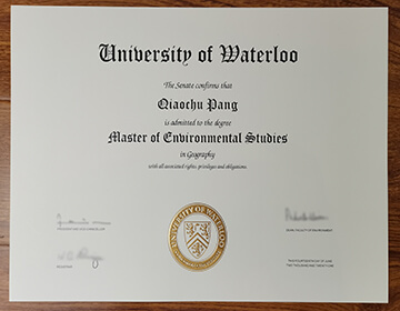Fake University of Waterloo Master degree order, 滑铁卢大学学位办理