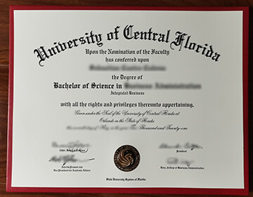Order a fake UCF Bachelor of Science diploma, 中佛罗里达大学毕业证办理