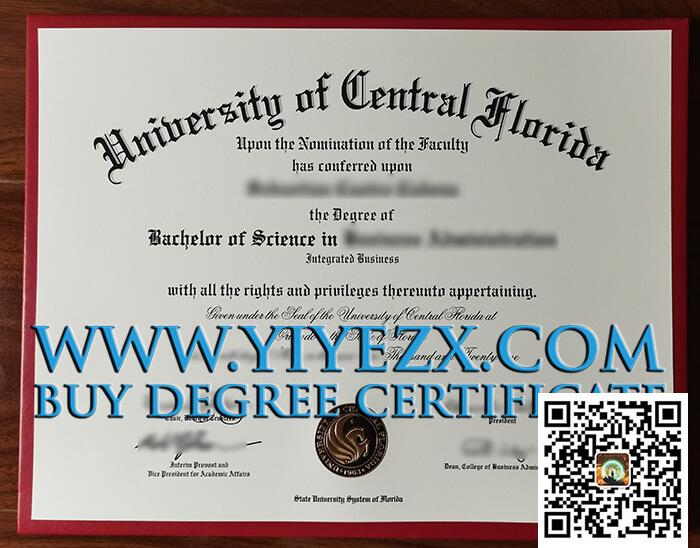 UCF diploma