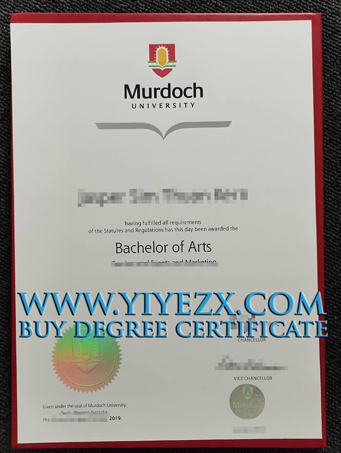 Murdoch University BA Diploma