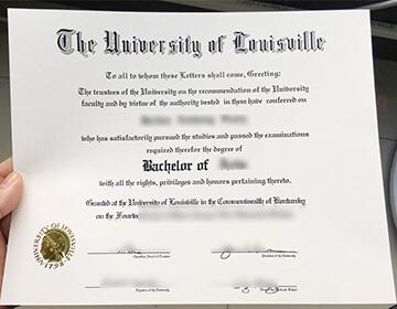 路易斯维尔大学学位出售,Get A Fake University of Louisville Degree In 2021