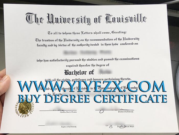 Fake University of Louisville Degree