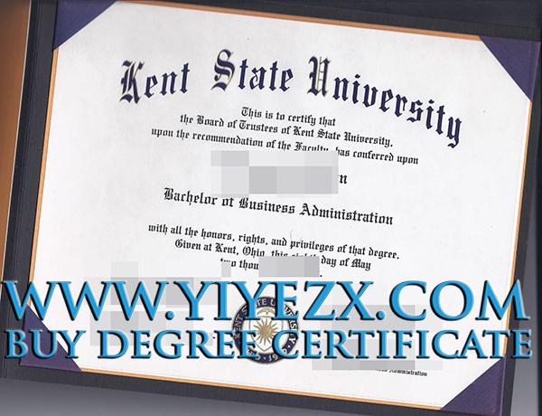 Kent State University degree, Kent State University diploma, 肯特州立大学学位证书