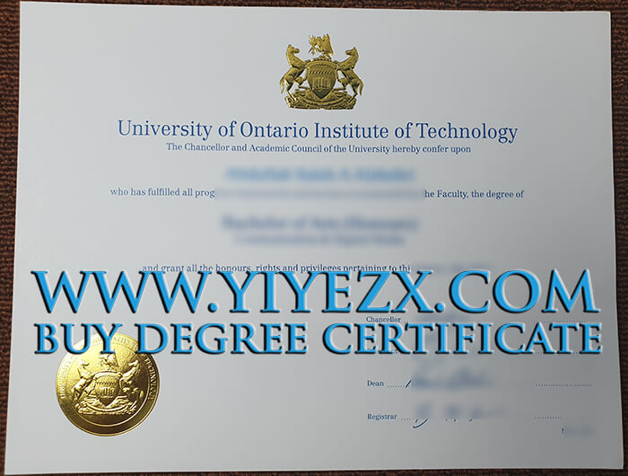 UOIT Diploma , How to ger Fake UOIT diploma in Ontario, 安大略理工大学文凭快速办理